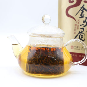 Wuyi Chinese Black Tea Jin Jun Mei Cha Golden Eyebrow Red Tea 250g