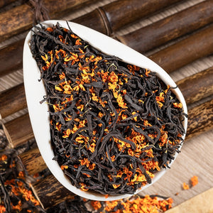 2020China Quality Black Tea Organic Osmanthus Black Tea Green TeaWeight Loss Health Food 500g