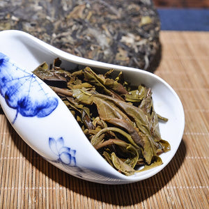 2012 Yr 357g Raw Pu'er Tea Yunnan Ban Zhang Shen Pu-erh Chinese Menghai Shu Pu-erh Tea 357g Chinese Tea For Weight Lose Tea
