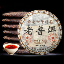 Load image into Gallery viewer, Chinese Pu'er Tea 100% Authentic 2007 Yr Pu-er Tea China Yunnan Old Ripe China Tea Health Care Pu-erh Tea For Weight Lose Tea