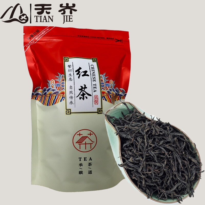 2020 China High Quality Lapsang Souchong Black Tea Wuyi Lapsang Souchong Zheng Shan Xiao Zhong Tea For Lose Weight