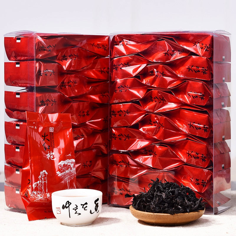 150g China Big Red Robe Oolong Tea the Original Green Food Wuyi Rougui Tea For Health Care Lose Weight