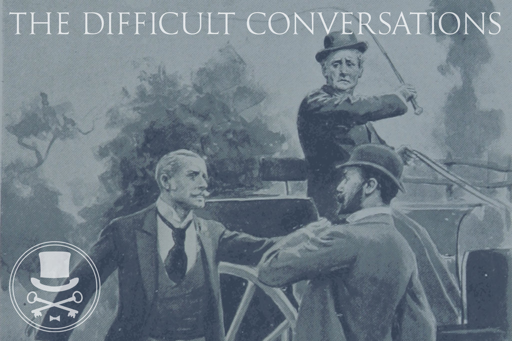 Having the difficult conversations