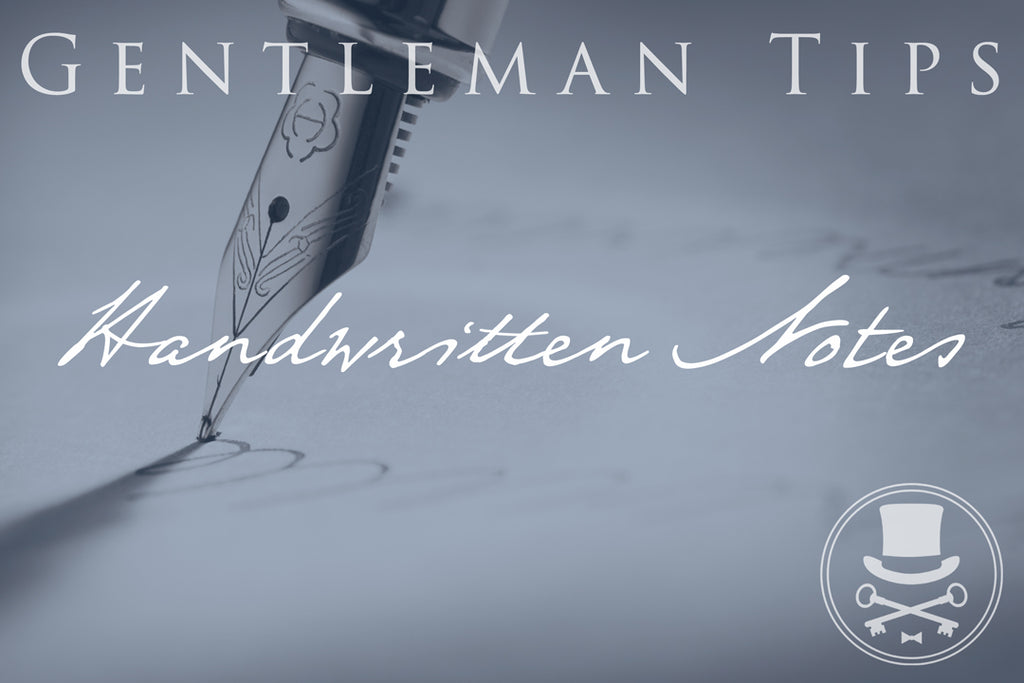 3 Reasons for a handwritten note
