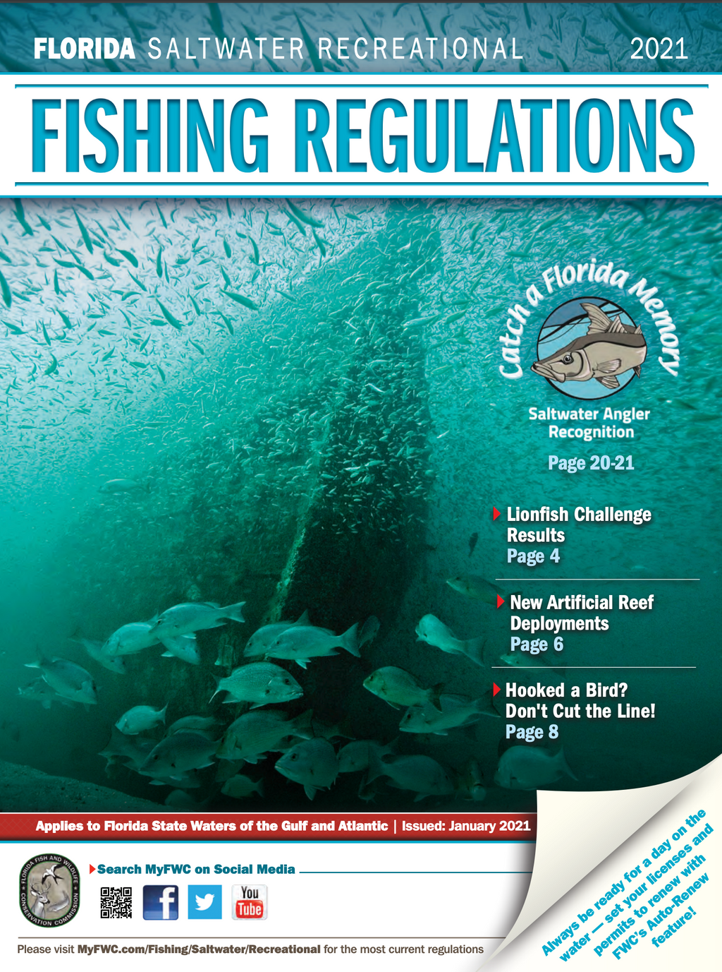 Florida Saltwater Recreational Publication 2021 - KnottyTails