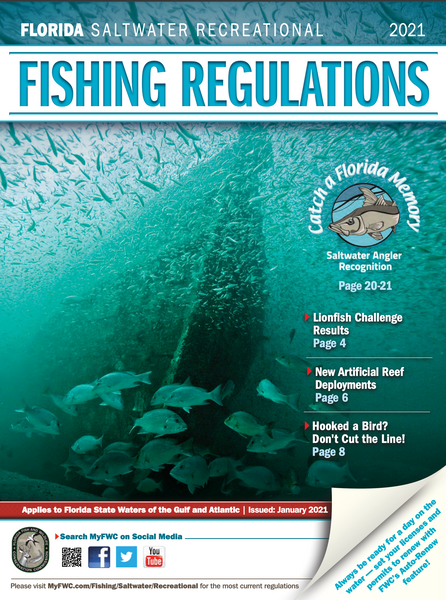 Florida Saltwater Recreational Publication 2021