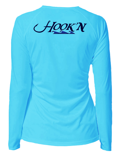 Women's Hook'n Crew Neck Performance Shirt