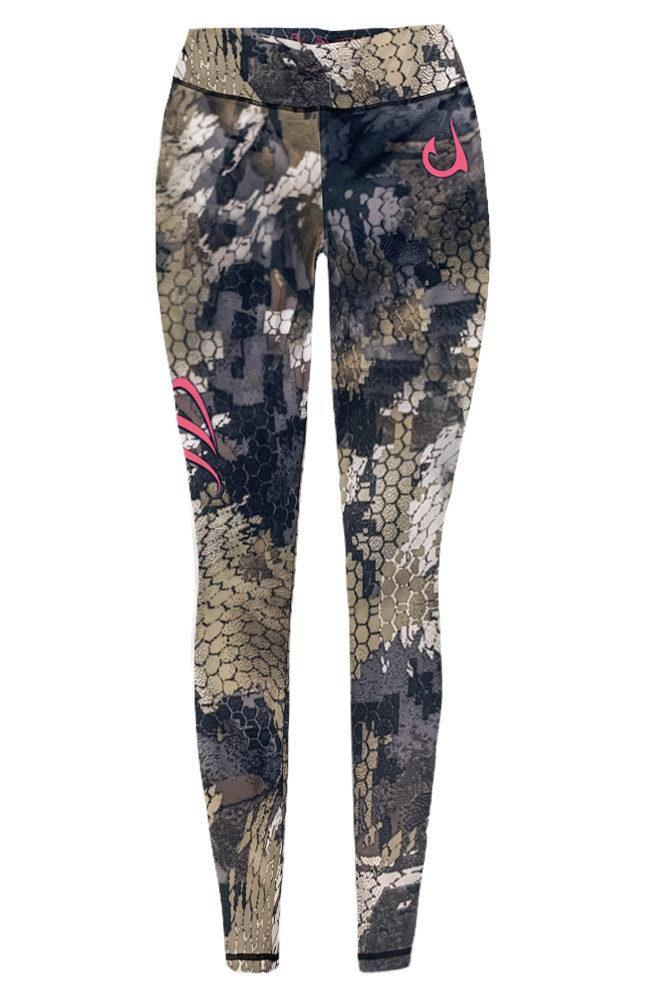 Womens Camouflage Performance Leggings - KnottyTails