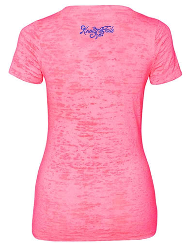Women's Marlin V-neck Burnout Tee