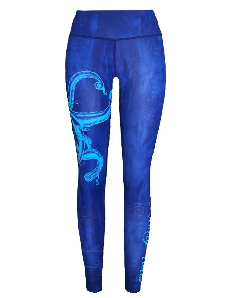 Women's Octopus Performance Leggings - KnottyTails