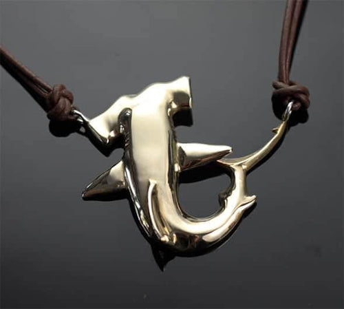Sterling Silver Hammerhead Pendent