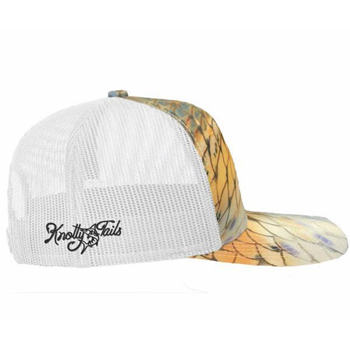 Original Redfish Scale Snapback Hat