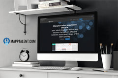 human resources talent acquisition logo design and website