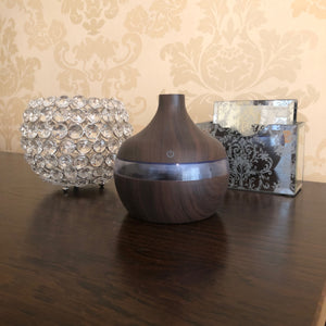 Electric Essential Aroma Oil Diffuser - Dark Wood