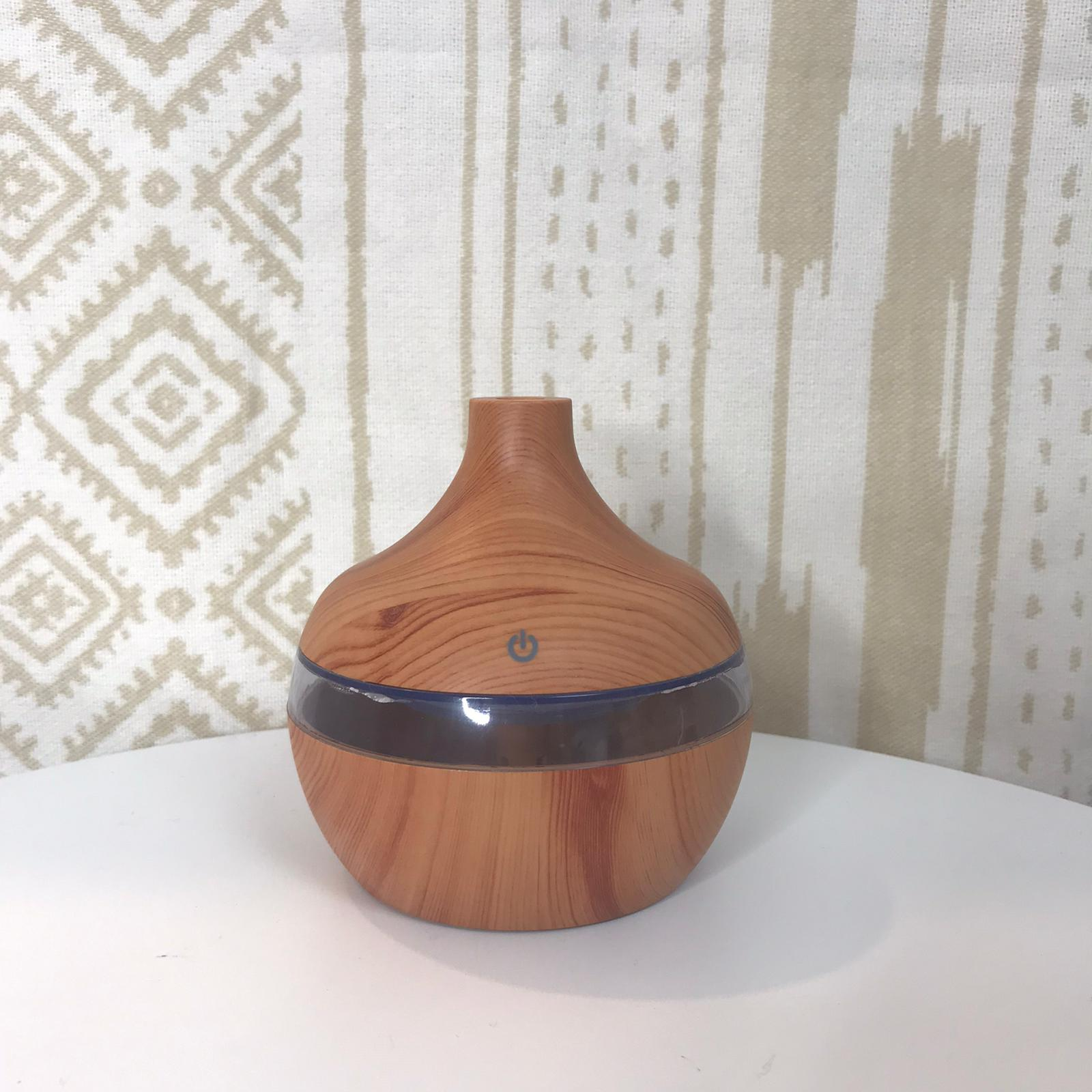 Electric Essential Aroma Oil Diffuser - Light Wood