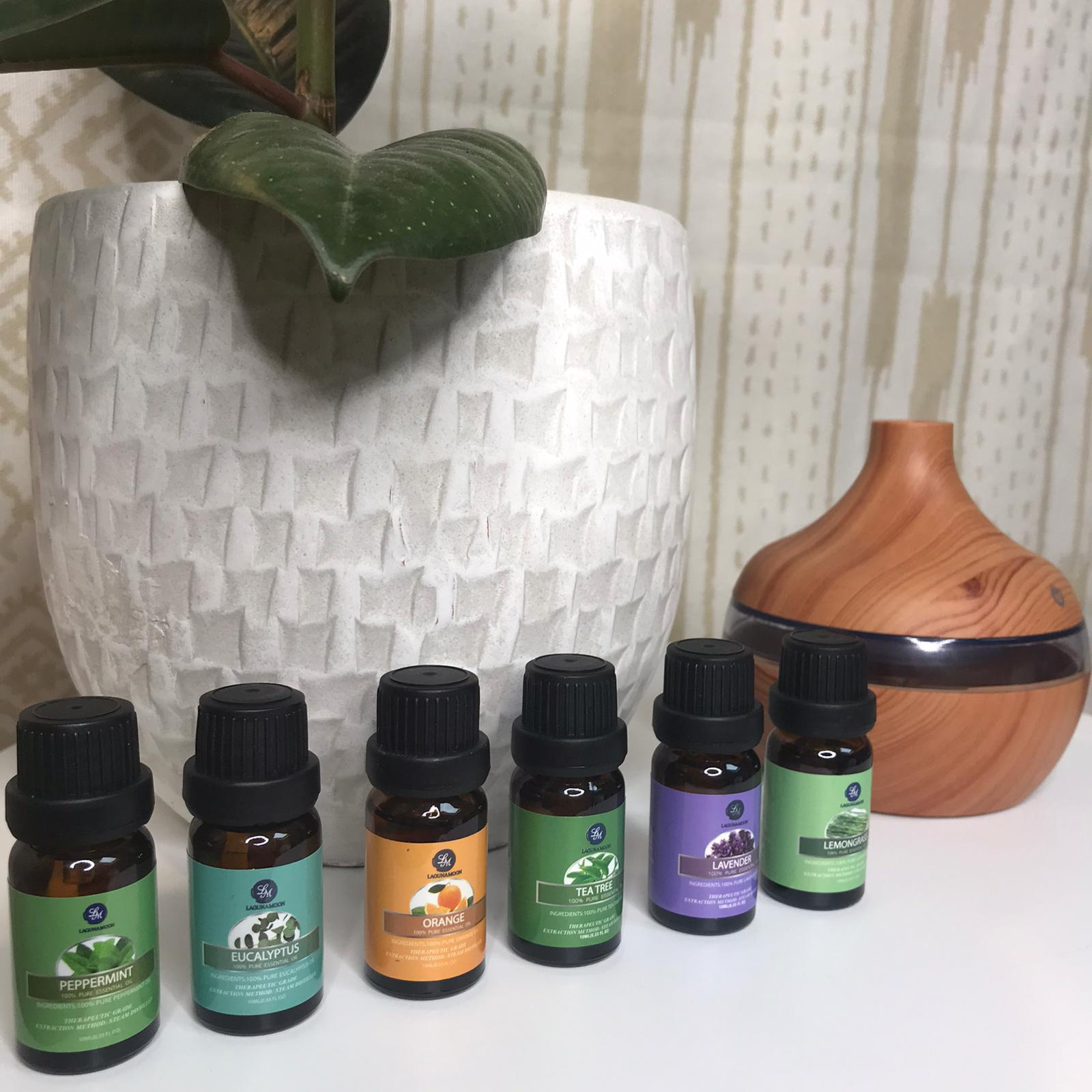 Pure Essential Oils 10ML 6 Pack