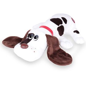 Pound Puppies- White with Black Spots