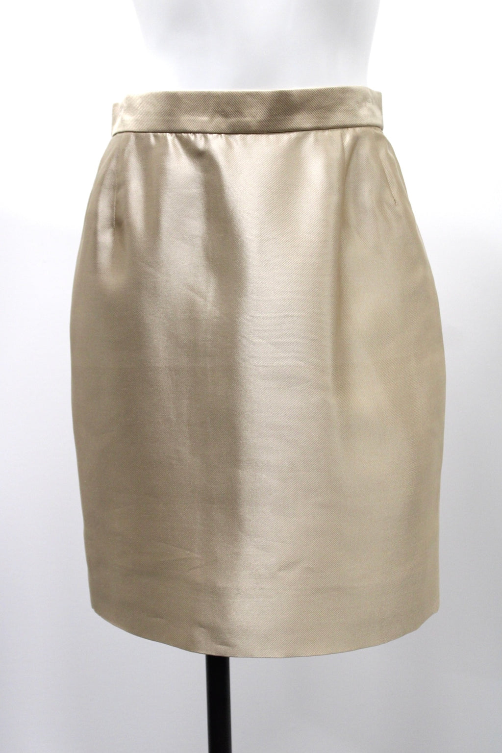 David Hayes Silk Skirt