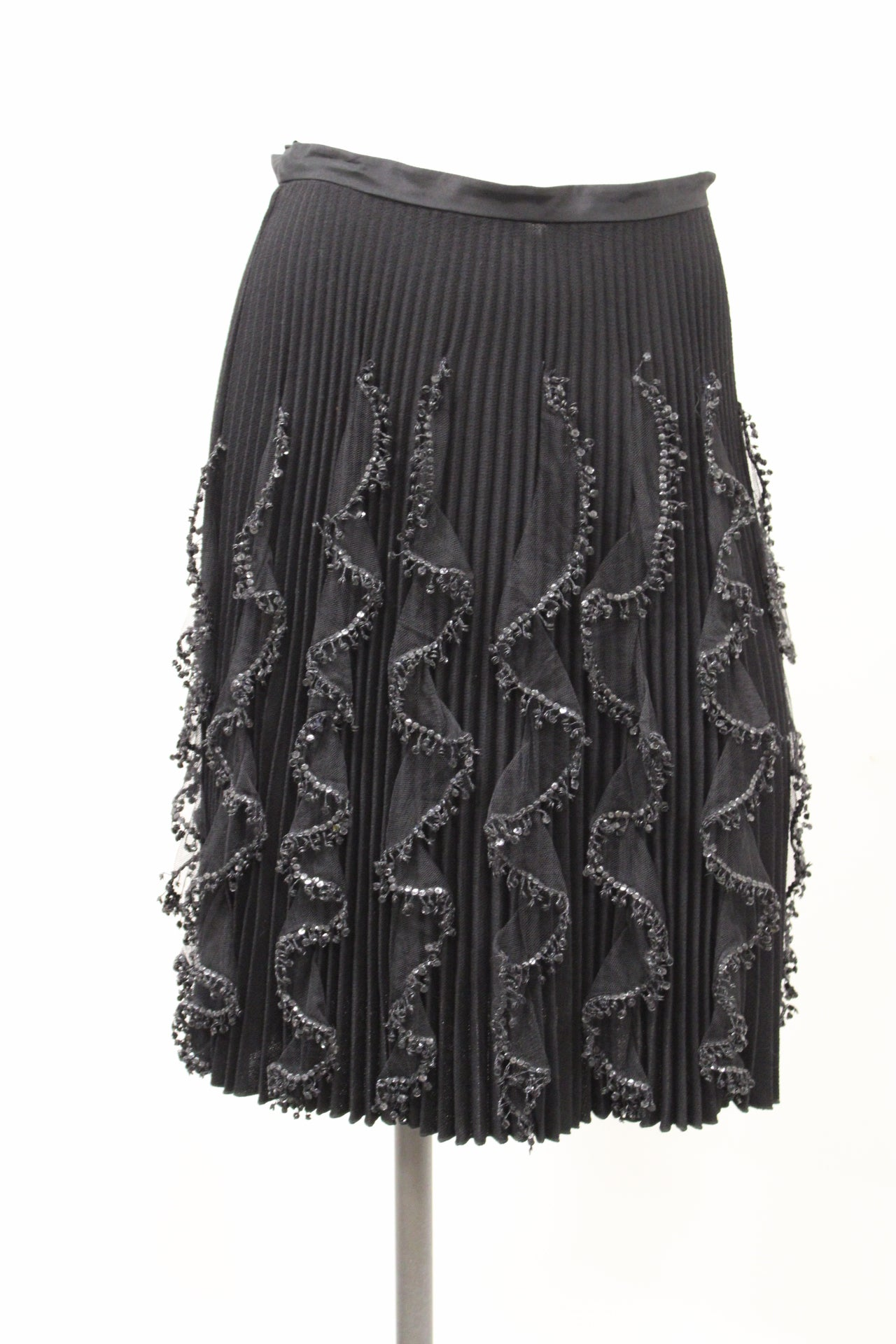 Valentino Sequin beaded mini skirt