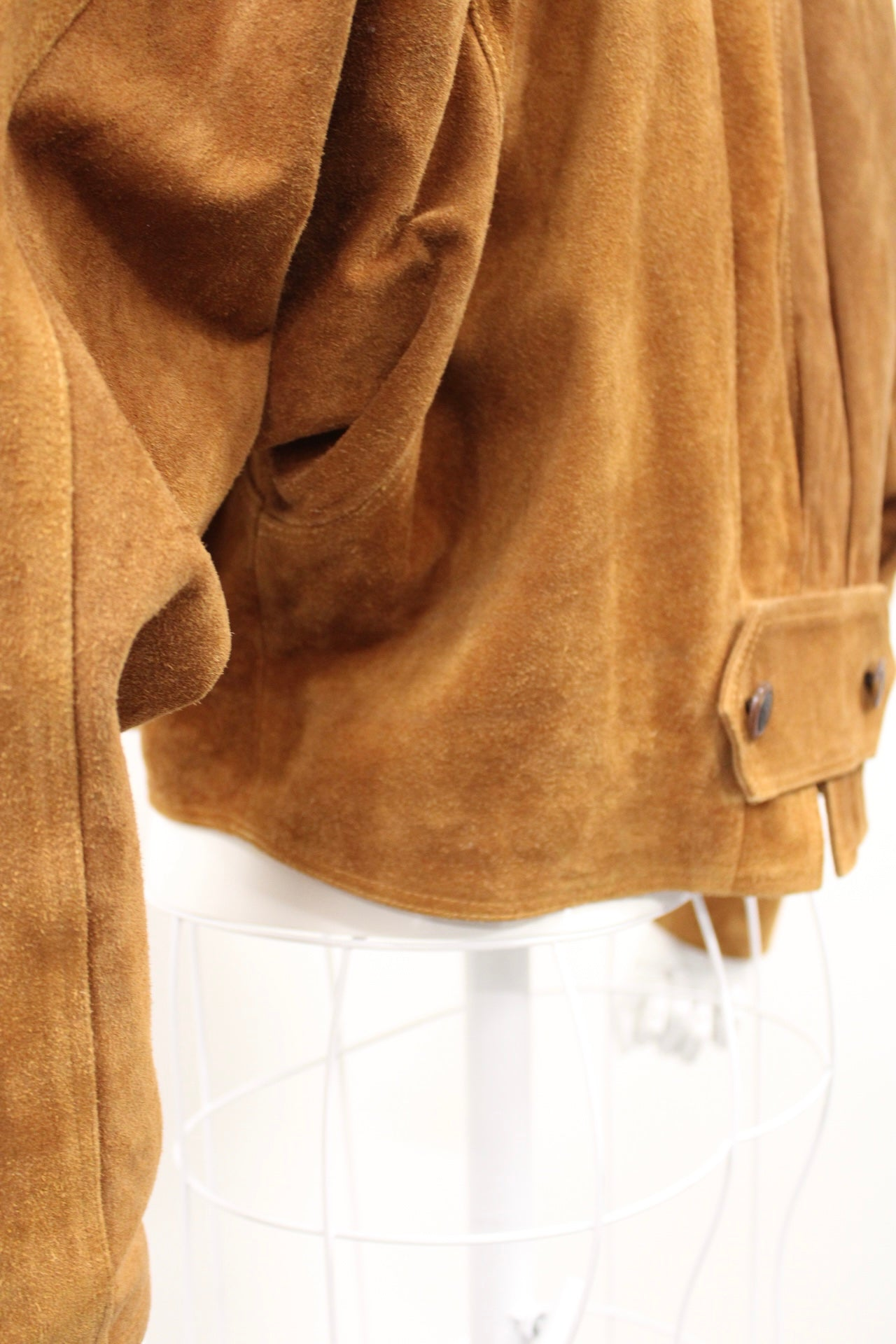 Unik Suede Crop Jacket
