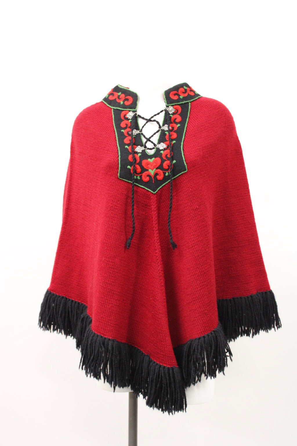 Vintage Ladies Wool Cape