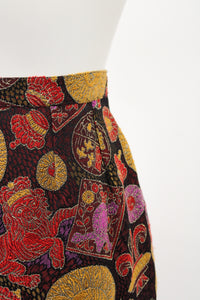 Guy Laroche Brocade Skirt