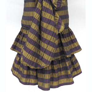 Complements Striped Taffeta Belted Dress for women