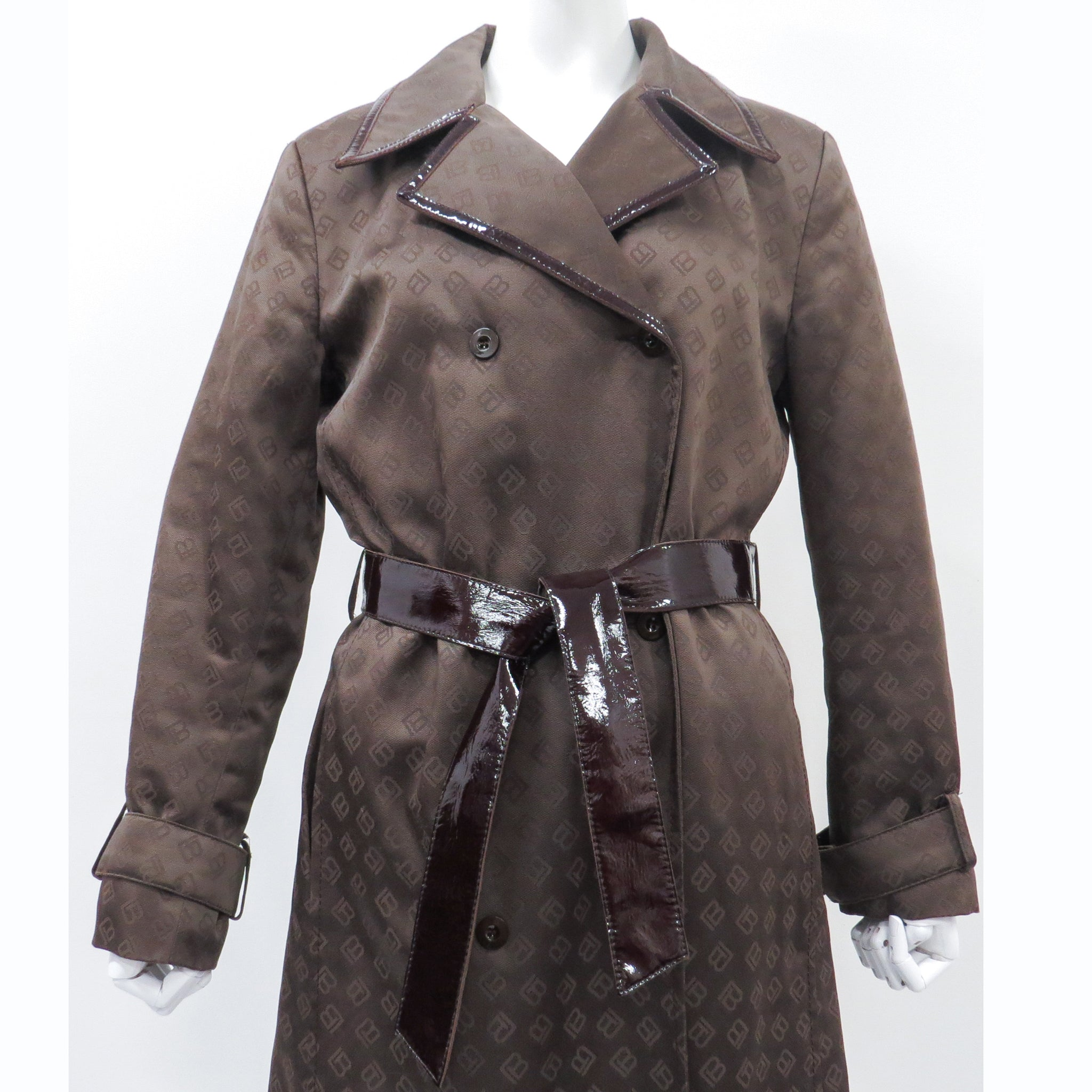 Laura Biagiotti Long Trench Coat