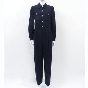 St John Collection Long Sleeve Jumpsuit