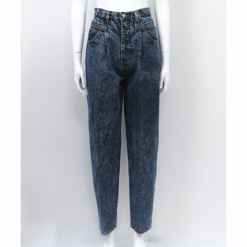 Jordache Acid Wash Denim Pant