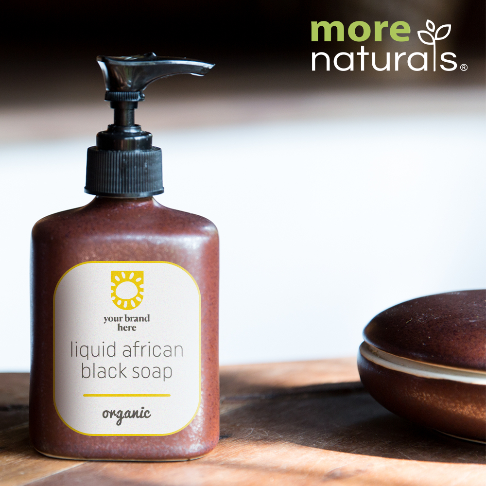 Organic Liquid African Black Soap
