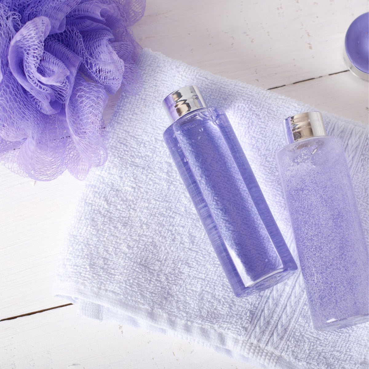 Soothing Nutritious Lavender Shower & Bath Gel