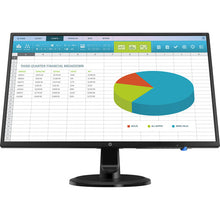 "Load image into Gallery viewer, HP N246V 23.8"" LED monitor 1080p IPS"