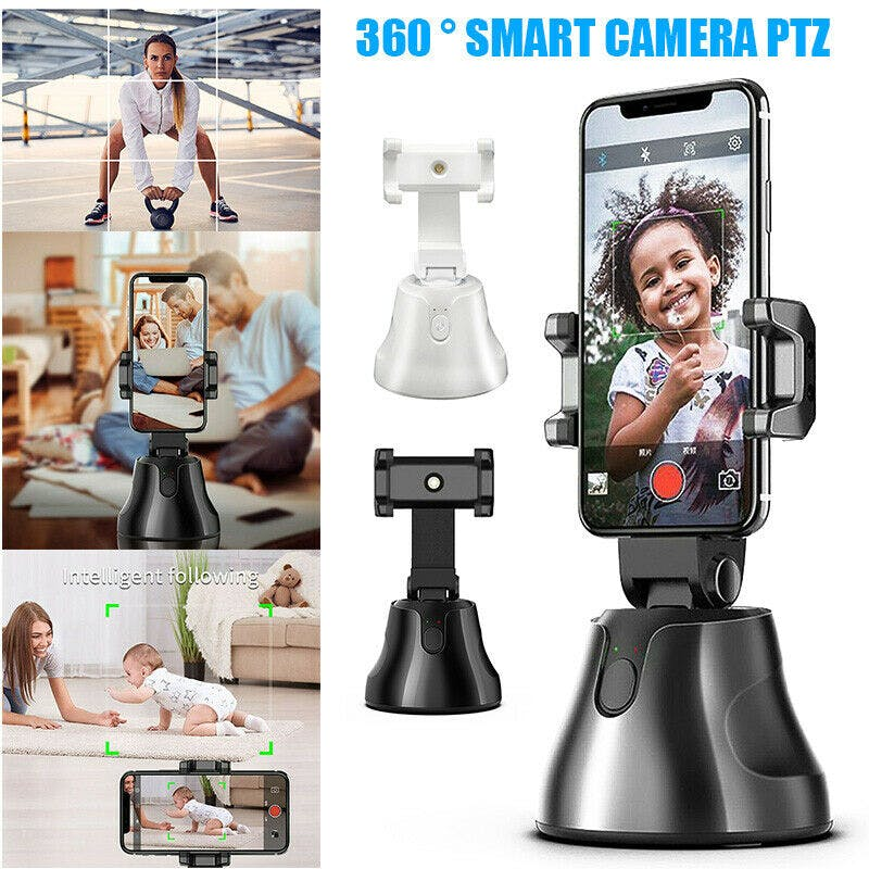 360 Degree Object Tracking Cell Phone Holder