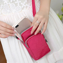Load image into Gallery viewer, Universal Cross Body Cell phone Pouch!