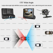 Charger l'image dans la galerie, Dual Car Dash Cam with Front and Back Cameras