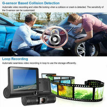 Load image into Gallery viewer, Dual Car Dash Cam with Front and Back Cameras