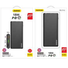 Load image into Gallery viewer, 18W Universal Power Bank - 10,000 mAH