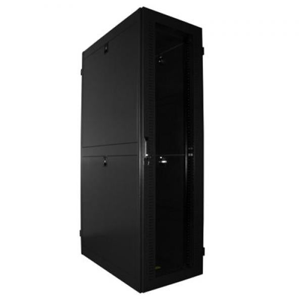 Enhanced Ventilation Server Cabinet, 42 in. Depth, 47U - Flat Packed