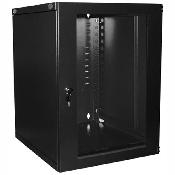 9U Single Fixed Wall Mount Cabinet