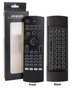 Wireless Remote and Keyboard with Backlight