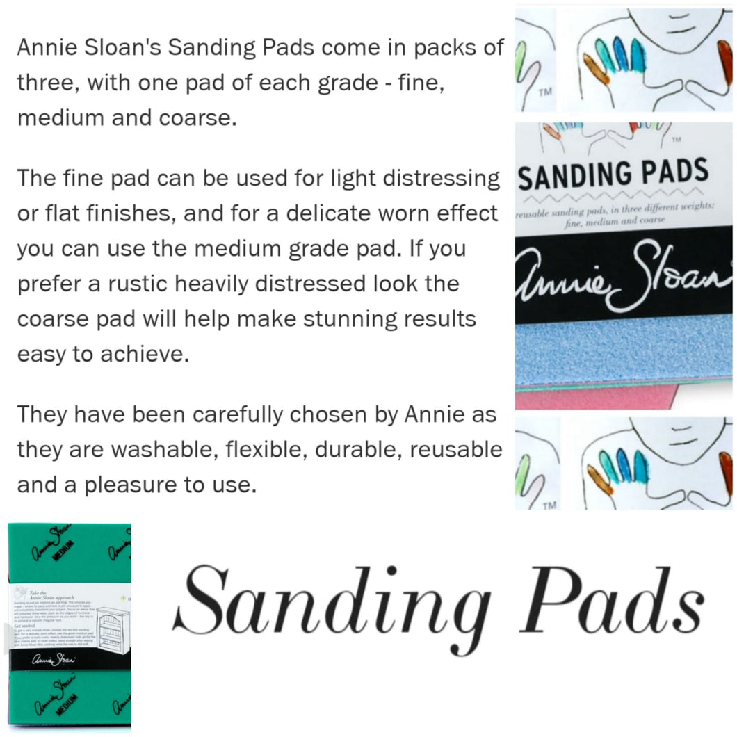Sanding Pads (Pack of 3)