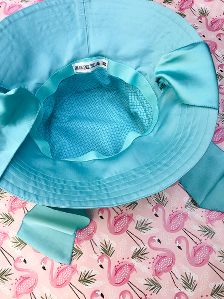 Luxury Summer Hat, Cotton Sateen