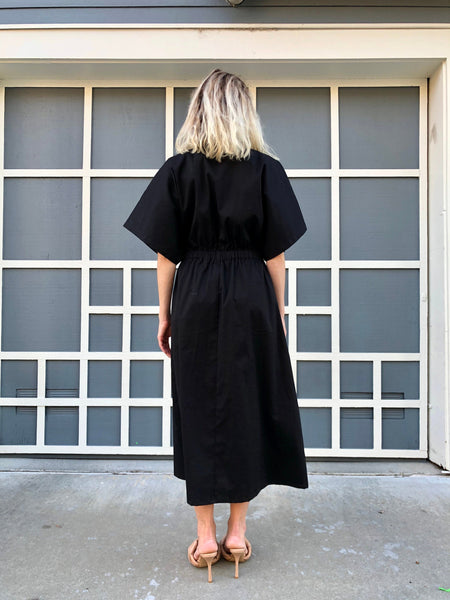 Designer Black Dress, Lounge Wear