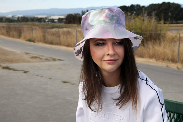 Custom Bucket Hat 3D Effect, Organza