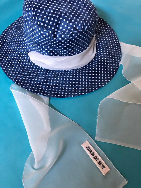 Custom Bucket Hat, Morris&Co Print