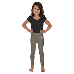 "Tan ""Strong and Confident"" Leggings Kids 2-7"