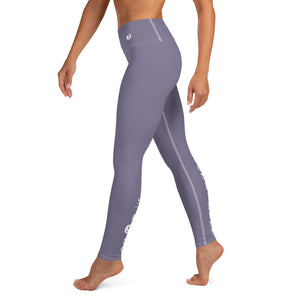 "Purple ""Strong and Confident"" Leggings"