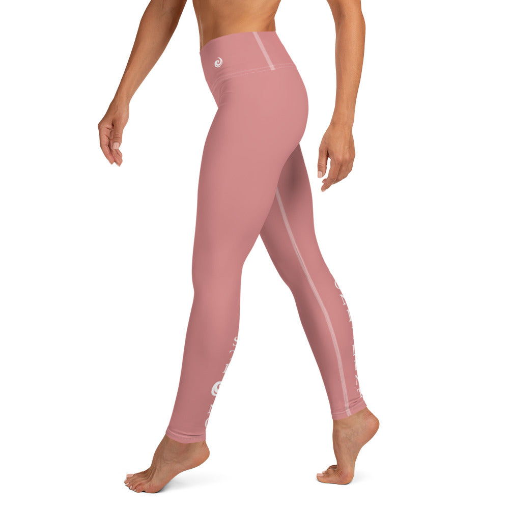 "Pink ""Strong and Confident"" Leggings"