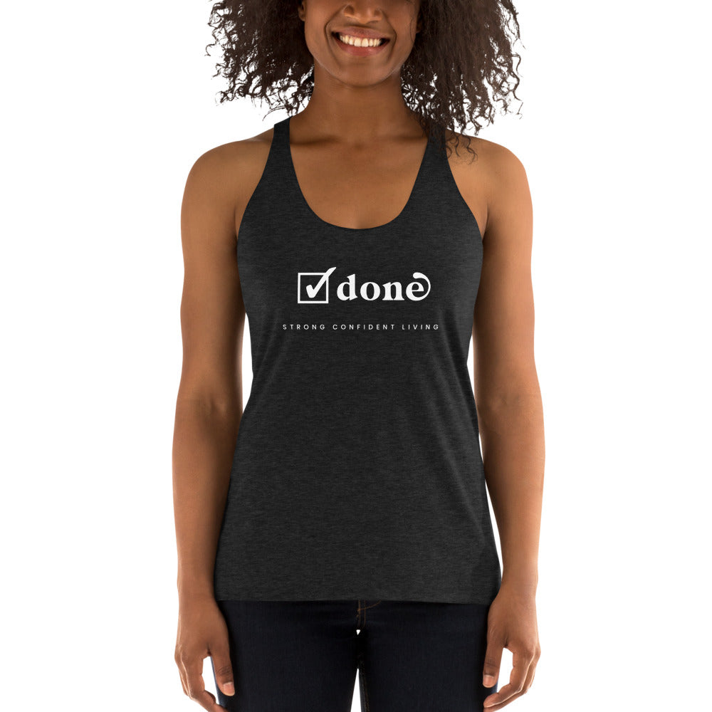 "Women's ""Done"" Tank Top"